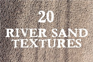 River Sand - 20 Textures