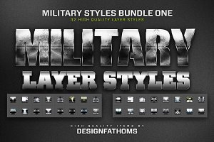 Military Styles Bundle 1
