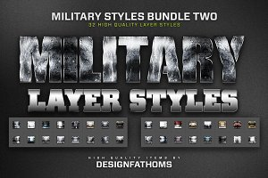 Military Styles Bundle 2