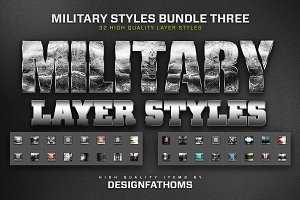 Military Styles Bundle 3