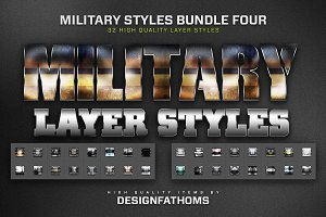 Military Styles Bundle 4
