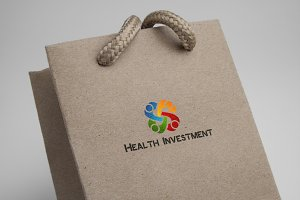 Health Investment Logo Template