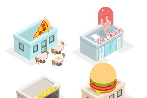 Restaurant, cafes and fast food shop