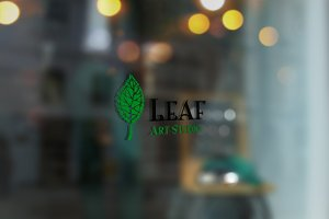 Leaf Art Studio Logo Template