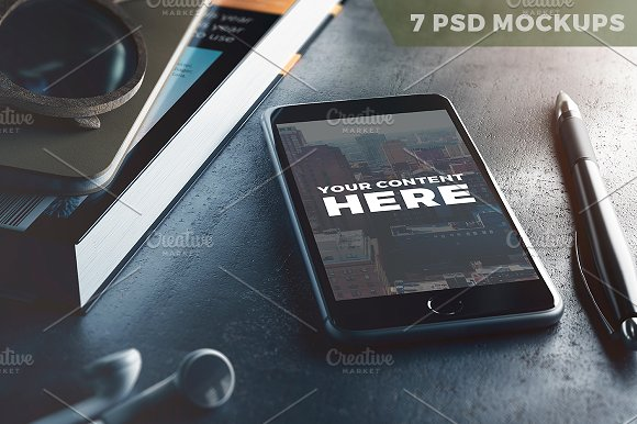 Download 7 PSD Mock-ups