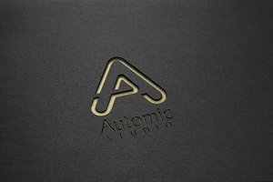 Atomic Studio Logo Template
