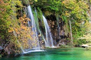 Small Falls in Autumn