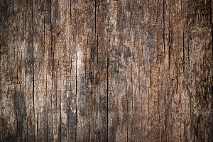 Cracked old wood background