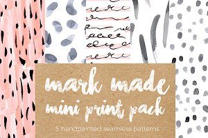 Mark Made Seamless Pattern Mini Pack