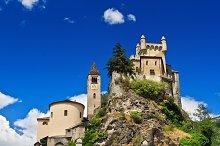 Saint Pierre castle, Italy