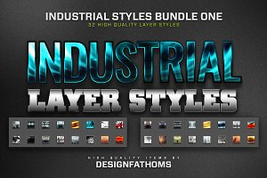 32 Industrial Styles Bundle 1