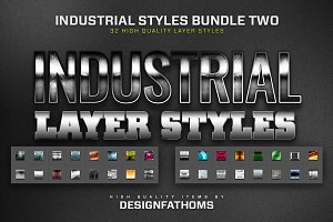 32 Industrial Styles Bundle 2