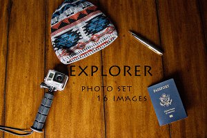 Explorer Desk Photo Set