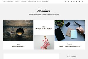 Blogger Template - Beehive Personal