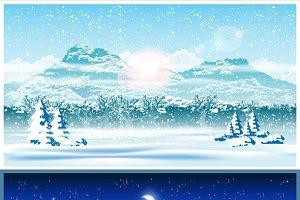 Winter Forest mini Set