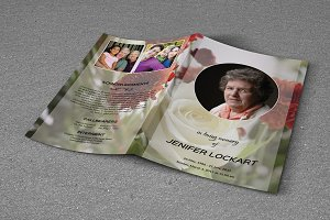 Funeral Program Template-T323