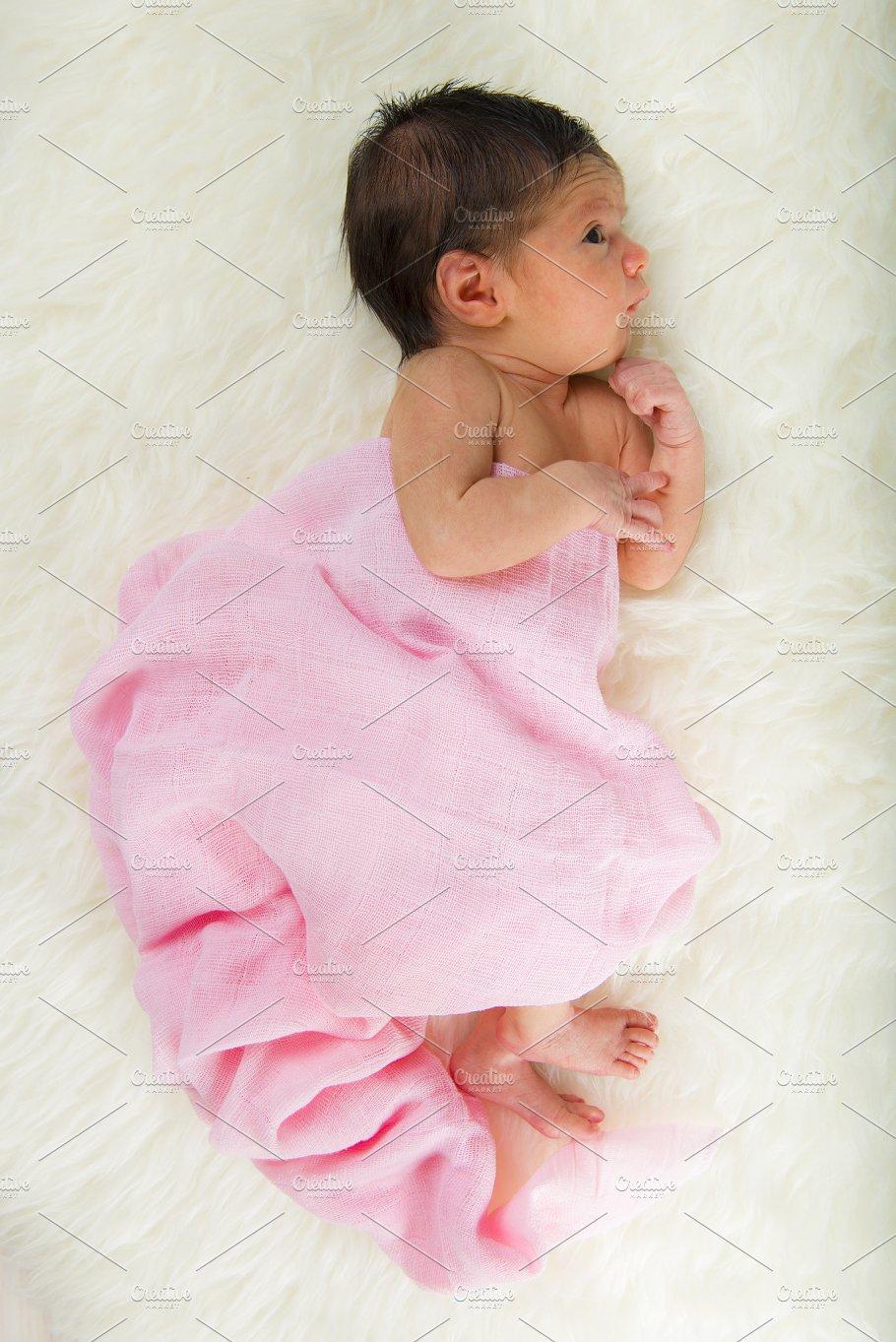 Newborn baby girl people photos creative market
