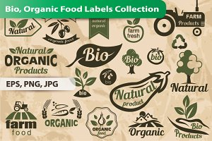 Bio, Organic Food Labels and Emblems