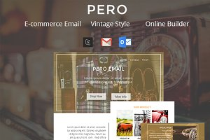 Pero - E-commerce Email Template