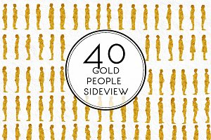 Gold People Sideview