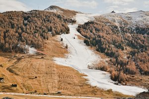 Cool Ski Slope