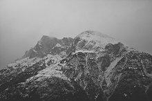 Mountains at Winter Artwork