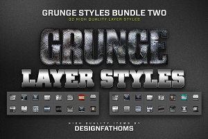 32 Grunge Styles Bundle 2