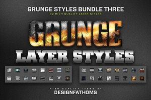 32 Grunge Styles Bundle 3