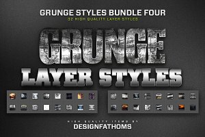 32 Grunge Styles Bundle 4