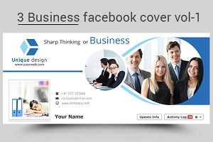 3 business facebook cover