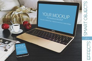 Mockup iphone6 macbook