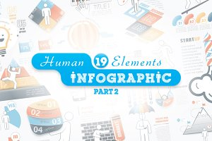 Human Infographic Bundle (part 2)