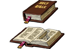 Bible with cache