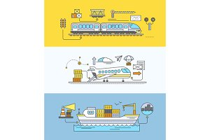 Freight Forwarding Rail by Sea
