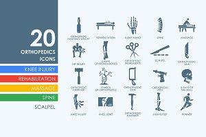 20 orthopedics icons