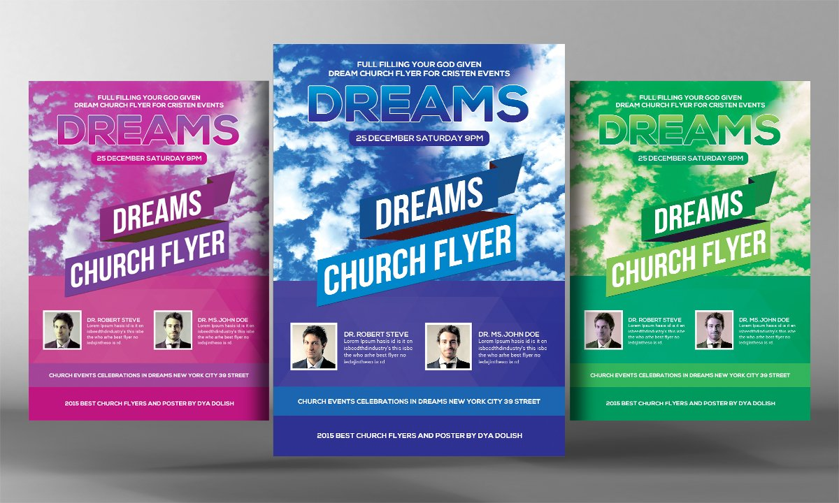convention flyer photos graphics fonts themes templates dream church flyer template
