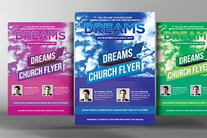 Dream Church Flyer Template