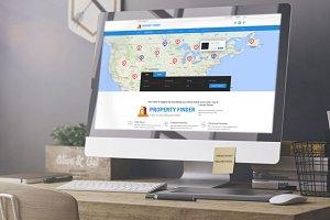 Property Finder - Real Estate PSD