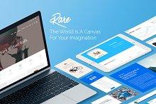 Rare - Multi-Purpose WordPress Theme