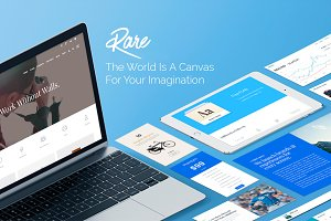 Rare - Multi-Purpose WordPress Theme
