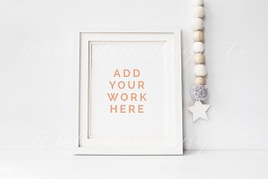 Nursery frame mock up - 8x10""