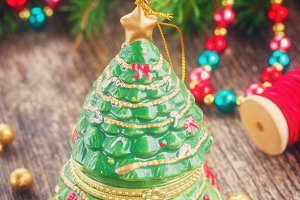 christmas evergreen tree