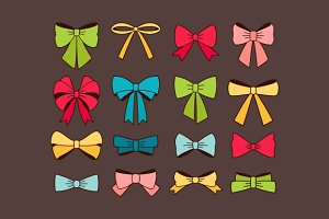 Collection of cute bows