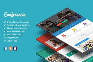 Conferencia - Event Landing Page