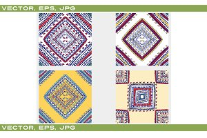 Vector ethnic Seamless pattern.