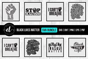 Black Lives Matter Svg Bundle Vol 5 Pre Designed Vector Graphics Creative Market