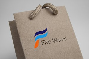 Five Waves Logo Template
