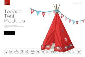 Teepee Mock-up