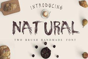 Natural 2 Fonts