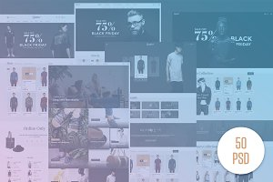 Quato - Fashion eCommerce PSD Temp
